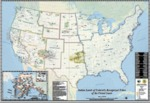 2016 - Bureau of Indian Affairs Map Indian Lands of Federal Recognized Tribes
