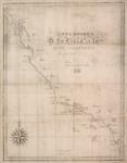 1839 - Carta esférica de la costa de la Alta California : comprendida entre los paralelos de 32° y 38° norte.