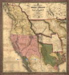 1846 - A New Map of Texas, Oregon and California.