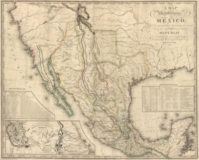 Pre1846 Maps Mexican Republic California State University