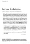2017 - Surviving Secularization: A Mexican Franciscan in a Changing California, 1833–1851, Damian Bacich