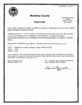 2014, December 18 - Board of Supervisors of County of Monterey Resolution 14-357