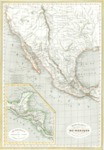 1835 Map, Republic of the United States of Mexico