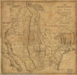 1807- A Map of the Internal Provinces of New Spain