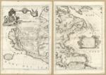 1688  America Settentrionale colle nuove scoperte n al'anno 1688, divisa nelle sue parti secundo lo stato