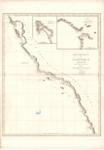 1828 - Cote Nord-Quest de L'Amérique Reconnue par le Cap. Vancouver