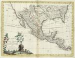 1785 - Messico ovvero Nuova Spagna che contiene il Nuova Messico la California con una parte de'paesi adjacenti