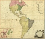 1786 - A new map of the whole continent of America - divided into North and South and West Indies where they are exactly Described in United States of North America as well as the Several European Possessions according to the Preliminaries of Peace signed at Versailles, Jan 20, 1783