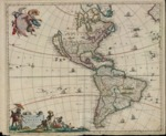 1670 c. - Novissima et Accuratissima Totius Americae Descriptio