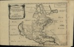 1705 French map depicting North America and polar lands.