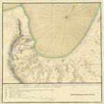 1770 - Plano del Tondeadero o Surgidero de la Bahia y Puerto de Monterrey - situado por 36 grados y 40 minutos de latitud Norte