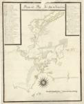 1776 - Plano del Puerto de San Francisco
