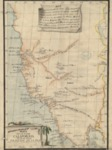 1795 c. – Mapa de la Nueva California al exmo Señor Principe De La Paz