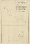 1791 - Costa N.O. de la Ámerica Septentrional:  Plano de la Ensenaday Puto de Monterrey  situado en la Latitd. N 36°-36' y el Longitud de 115°-90'-20''.  Occidentl. de Cadiz / Levantado por las Corvetas de S.M. Descubierta y Atrevida