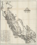 1862 - U.S. Surveyor General Map of California