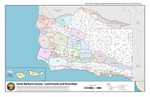 2011 – Santa Barbara County Land Grants and Townships Map
