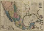 1847 - Mapa de los Estados Unidos de Méjico, California &c. : segun lo organizado y denido por las varias actas del congreso de dicha Républica y construido por las mejores autoridades.