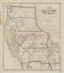 1853 - New map of California, Oregon, Washington, Utah and New Mexico