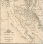 1858 - Map of the Gadsden Purchase - Sonora and portions of New Mexico, Chihuahua & California