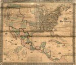1856 - A new map of our country, present and prospective : [United States] : compiled from government surveys and other reliable sources.