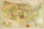 1892 - Map showing Indian reservations within the limits of the United States