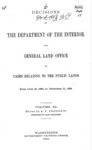 1891 - Decisions of the Department of Interior and General Land Office, June 30 - Dec. 31, 1890