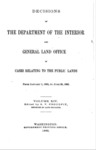 1892 - Decisions of the Department of Interior and General Land Office, Jan 1 - June 30, 1892