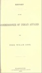 1866 - Report of the Commissioner of Indian Affairs for 1866