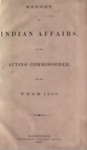 1868 - Report of the Commissioner of Indian Affairs for 1867
