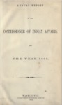 1868 - Report of the Commissioner of Indian Affairs for 1868