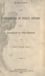 1872 - Report of the Commissioner of Indian Affairs for 1871