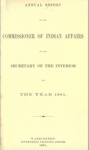 1881 - Report of the Commissioner of Indian Affairs 1881