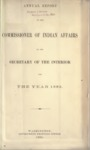 1882 - Report of the Commissioner of Indian Affairs for 1882