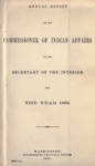 1883 - Report of the Commissioner of Indian Affairs for 1883