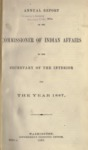 1887 - Report of the Commissioner of Indian Affairs for 1887