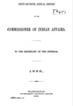 1888 - Report of the Commissioner of Indian Affairs for 1888
