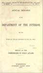1897 - Report of the Commissioner of Indian Affairs for 1897