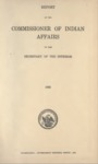 1909 - Report of the Commissioner of Indian Affairs for 1908