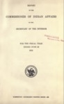 1912 - Report of the Commissioner of Indian Affairs for 1912