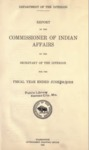 1918 - Report of the Commissioner of Indian Affairs for 1918
