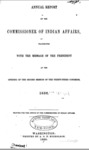 1855 - Report of the Commissioner of Indian Affairs for 1854