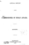 1896 - Annual Report of the Commissioner of Indian Affairs for 1895