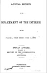 1903 - Report of the Commissioner of Indian Affairs for Fiscal Year Ended June 30, 1902, Part 1