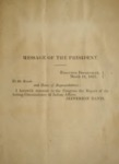 1862, March 8 - Report of the Confederate States of America, War Department, Office of Indian Affairs