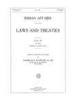 1929 - Indian Affairs - Laws and Treaties, Laws Vol. IV, Charles J. Kappler