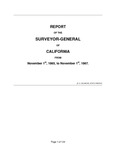 1865 November 1 - 1867 November 1, Houghton Report (Statistics for 1866), Surveyor General's Report to Governor of California