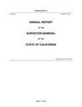 1856 January 7 - Marlette Annual Report, Surveyor General's Report to Governor of California