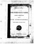 1886 February 25, Corrected Report of Spanish and Mexican 1886 Grants in CA (Completed to 2-25-1886), Supplement to 1883-84 Official Report (1), Surveyor General's Report to Governor of California