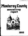1950, Monterey County Crop Report