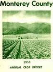 1953, Monterey County Crop Report